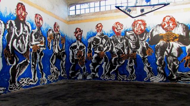 vernice acrilica su muro