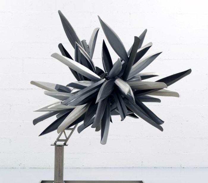 Nancy Rubins, Study Model (monocrome for Paris), 2012,  Modello in legno dipinto, stucco epossidico con armatura in acciaio ©Nancy Rubins and Gagosian Gallery