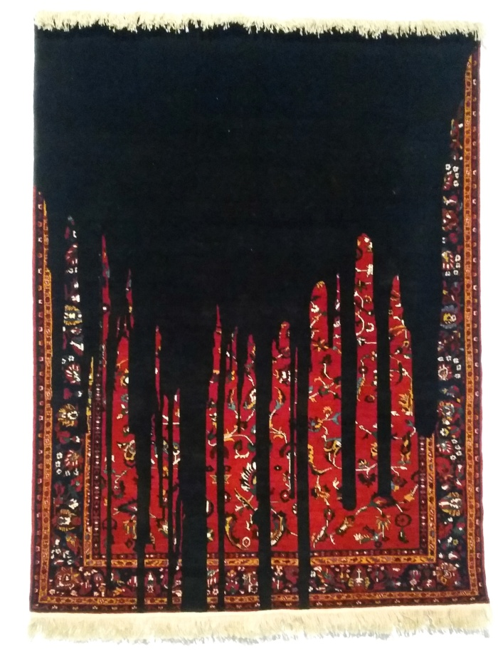 Faig Ahmed, Gara, tappeto tessuto a mano, 2014