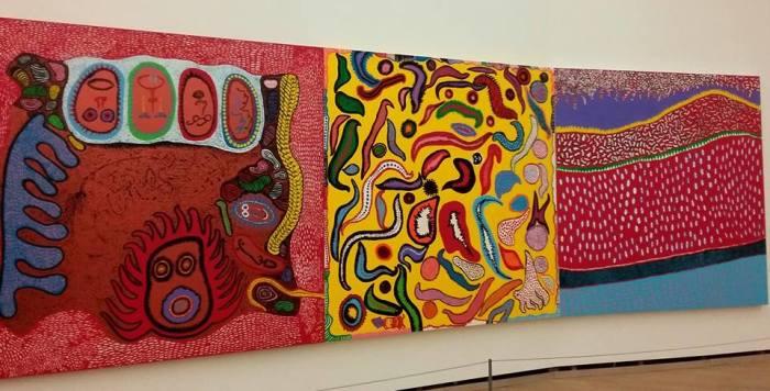 Yayoi Kusama, ultimi lavori, installation view