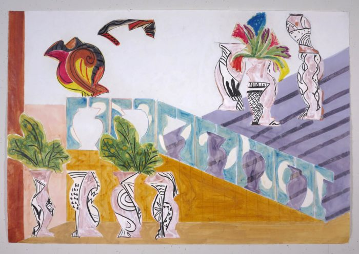 Betty Woodman, Italian Balcony View, 2001, courtesy of Galleria Lorcan O'Neill