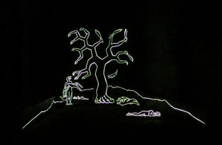 57. Esposizione Internazionale d'Arte, Padiglione Lettonia, Miķelis Fišers, Installazione Reptiles Immobilize Hallucinating Darwinist, Venezia 2017.