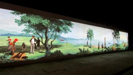 57. Esposizione Internazionale d'Arte, Padiglione Nuova Zelanda, Lisa Reihana, In Pursuit of Venus, Venezia 2017.